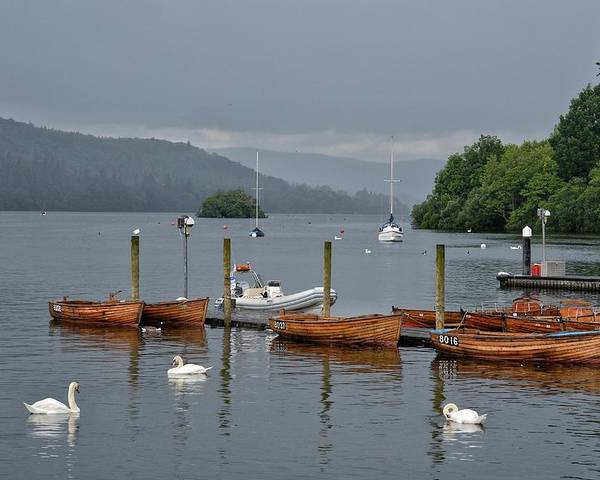 England Poster featuring the photograph Lake Windermere by Michael Biggs