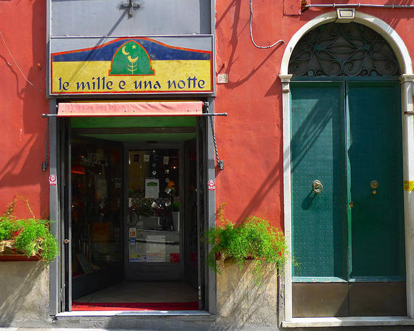 Shop Poster featuring the photograph Le Mille E Una Notte by August Timmermans