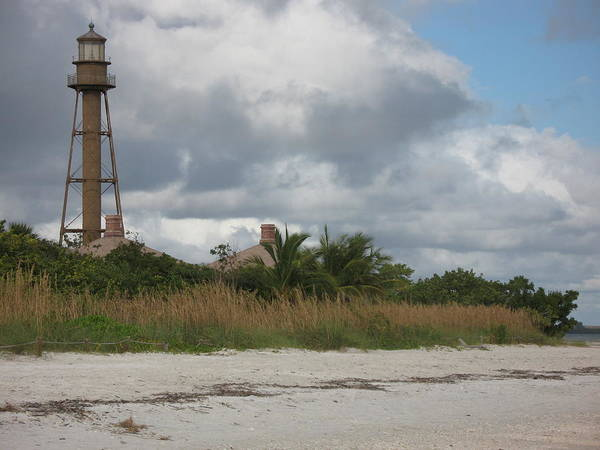 Ligthouse Poster featuring the photograph Sanibel Island Light by Christiane Schulze Art And Photography