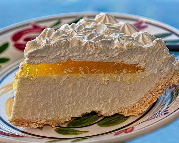 Hawaii Poster featuring the photograph Lilikoi Cheese Pie by Dan McManus