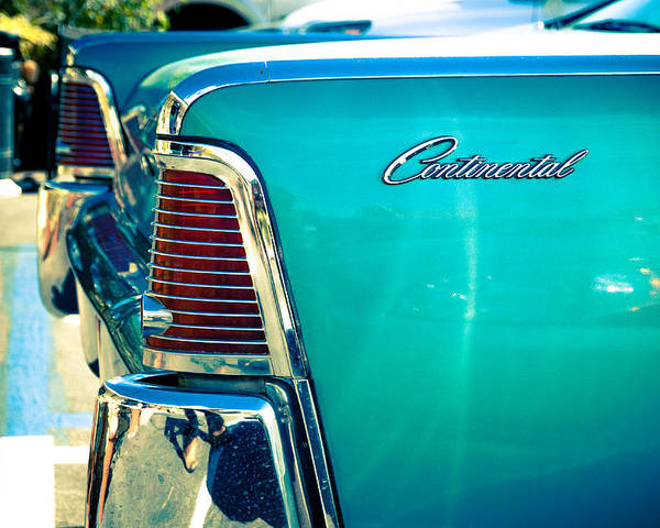 Car Poster featuring the photograph Lincoln Continental by Alberto Mirabal