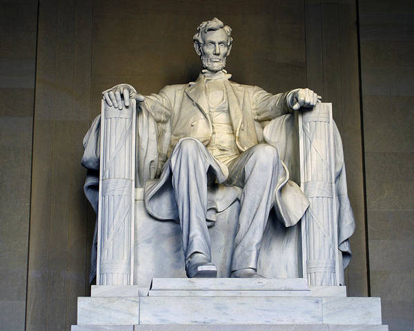Abraham Lincoln Poster featuring the photograph Lincoln by Pablo Rosales