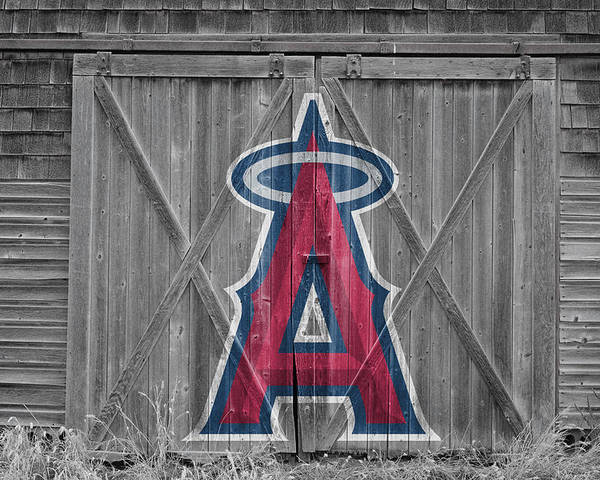 Angels Poster featuring the photograph Los Angeles Angels by Joe Hamilton