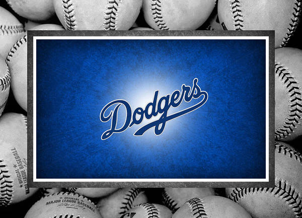 Dodgers Poster featuring the photograph Los Angles Dodgers by Joe Hamilton