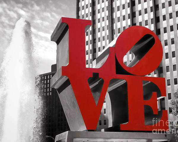 Love Poster featuring the photograph Love by Olivier Le Queinec
