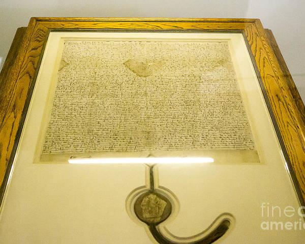 Australia Poster featuring the photograph Magna Carta by Steven Ralser