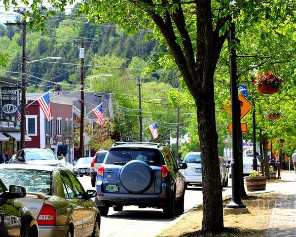 Main Street Poster featuring the photograph Main Street by Patti Whitten
