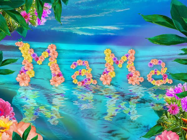 Alixandra Mullins Poster featuring the photograph Mama Ocean by Alixandra Mullins