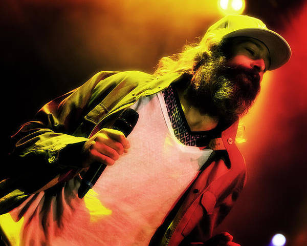 Jennifer Rondinelli Reillly Poster featuring the photograph Matisyahu Live In Concert 2 by Jennifer Rondinelli Reilly - Fine Art Photography