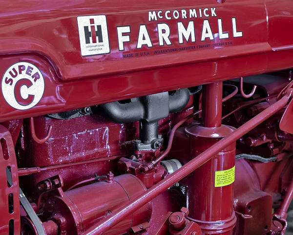Diesel Poster featuring the photograph Mc Cormick Farmall Super C by Susan Candelario