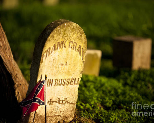 Mcgavock Poster featuring the photograph Mcgavock Confederate Cemetery by Brian Jannsen