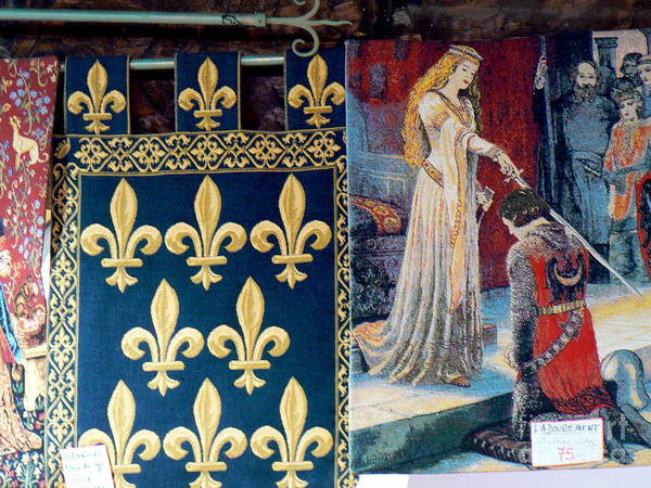 France Poster featuring the photograph Medieval Tapestry by France Art