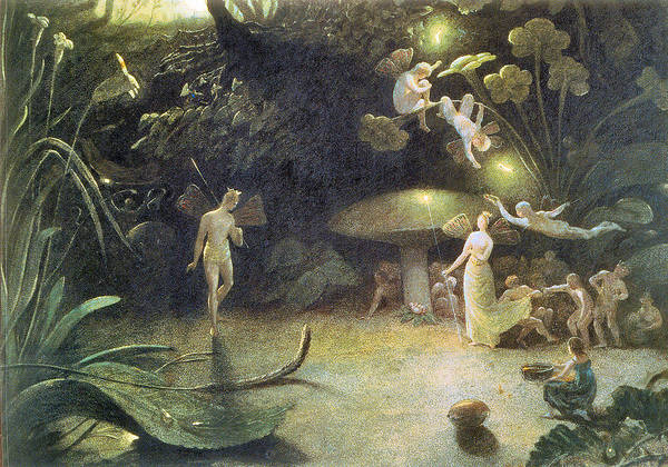 Francis Danby Poster featuring the photograph Midsummer's Night Dream by Francis Danby
