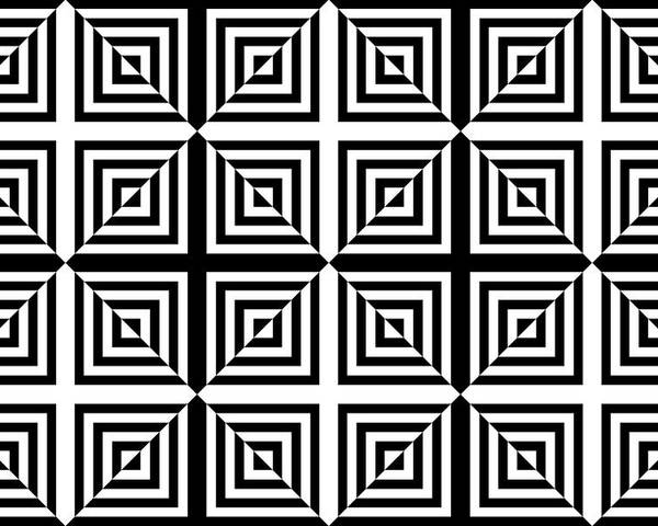 Squares Poster featuring the digital art Mind Games 30 Se by Mike McGlothlen