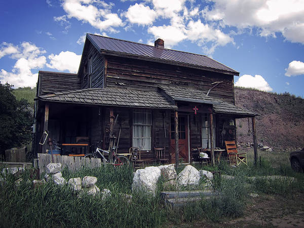 Montana Poster featuring the photograph Montana Home 2 by Daniel Hagerman