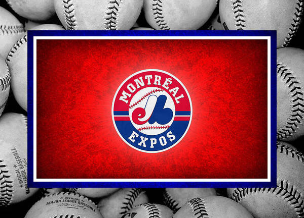 Expos Poster featuring the photograph Montreal Expos by Joe Hamilton