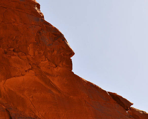 Monument Poster featuring the photograph Monument Valley Indian Chief by Christine Till