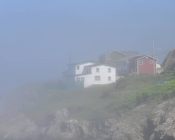 Portugal Cove Poster featuring the photograph Morning Haze by Colleen English