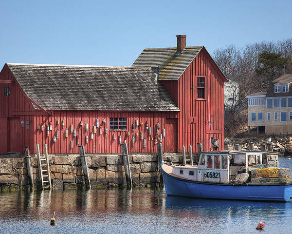 Motif Number 1 Poster featuring the photograph Motif Number 1 by Eric Gendron