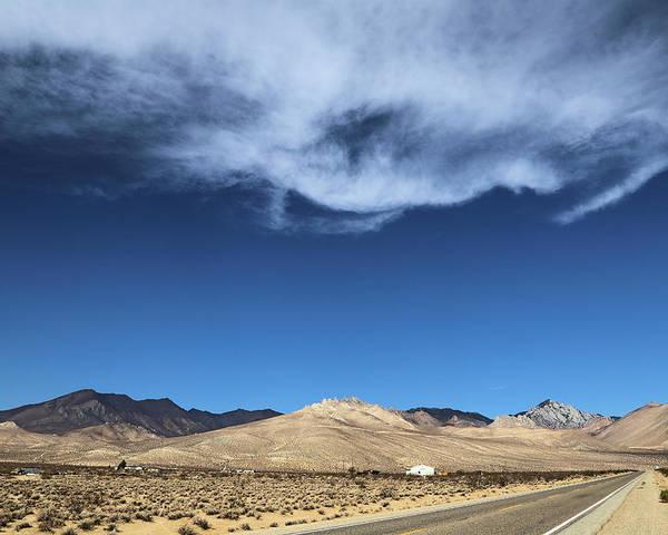 Mountain Range Of Sierra Nevada Poster featuring the photograph Mountain Range Of Sierra Nevada by Viktor Savchenko