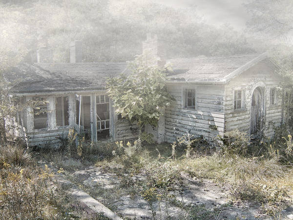 Abandoned House. Haunted House Poster featuring the photograph Mr Crowley's by Mark Dottle