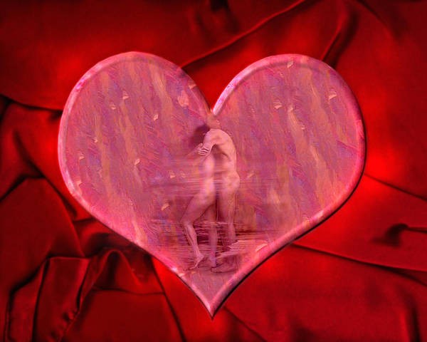 Lovers Poster featuring the photograph My Heart's Desire 2 by Kurt Van Wagner