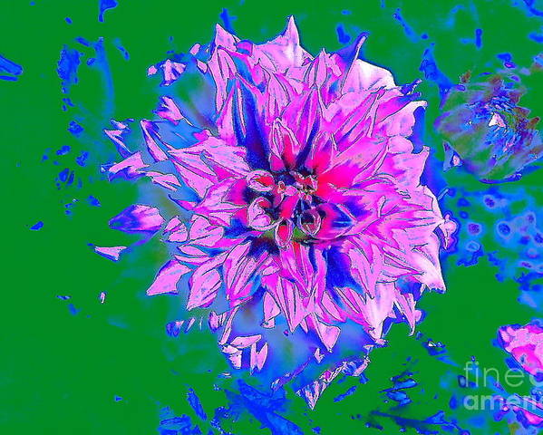 Flower Poster featuring the photograph My Pretty Peony by Jesse Ciazza
