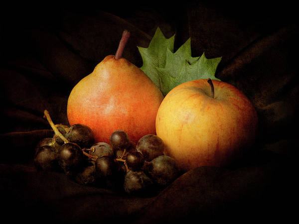 Apple Poster featuring the photograph Nature Morte #3 by Jerome Zakka Bajjani