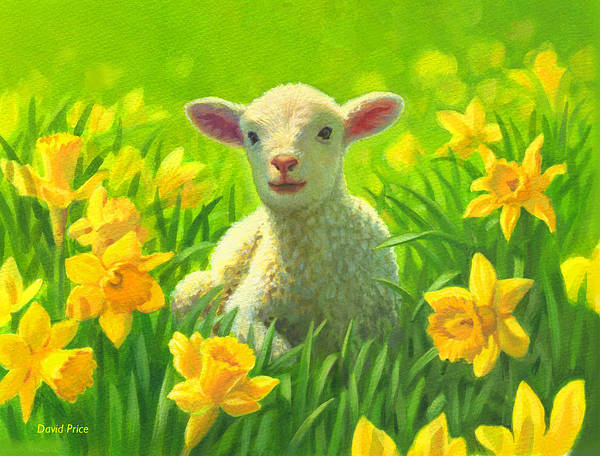 Spring Poster featuring the painting New Life In Spring by David Price