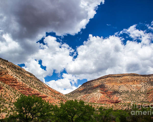 Mountains Poster featuring the photograph New Mexico Skies 1 by Jim McCain