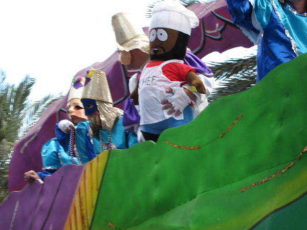 New Poster featuring the photograph New Orleans - Mardi Gras Parades - 121210 by DC Photographer