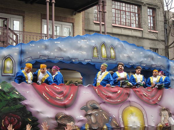 New Poster featuring the photograph New Orleans - Mardi Gras Parades - 1212113 by DC Photographer