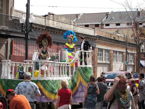 New Poster featuring the photograph New Orleans - Mardi Gras Parades - 1212143 by DC Photographer