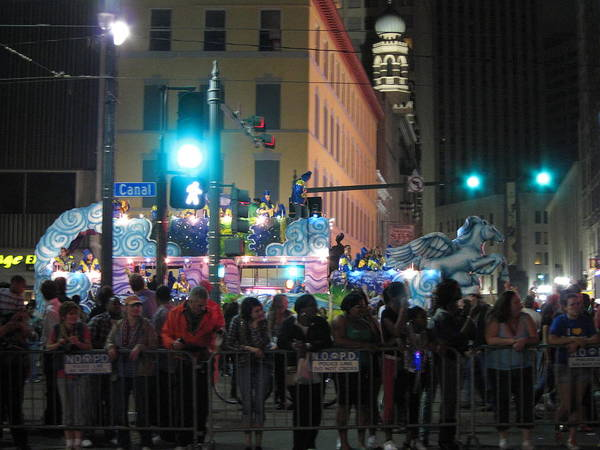 New Poster featuring the photograph New Orleans - Mardi Gras Parades - 121241 by DC Photographer