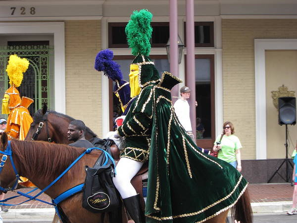 New Poster featuring the photograph New Orleans - Mardi Gras Parades - 121258 by DC Photographer