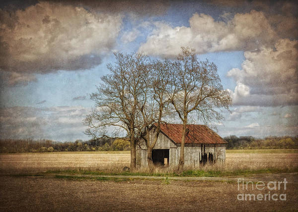 Barn Poster featuring the photograph New York Countryside by Pamela Baker
