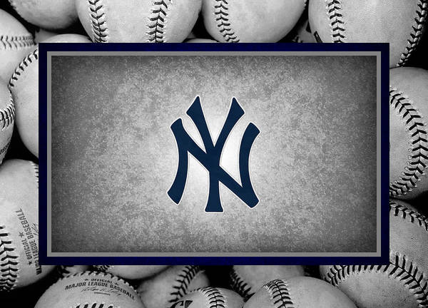 Yankees Poster featuring the photograph New York Yankees by Joe Hamilton