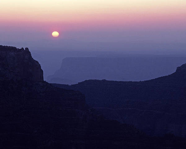 Grand Canyon National Park Poster featuring the photograph North Rim Grand Canyon Sunrise Light On Rock Formations Arizona by Jim Corwin