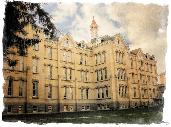Traverse City Poster featuring the photograph Northern Michigan Asylum by Michelle Calkins