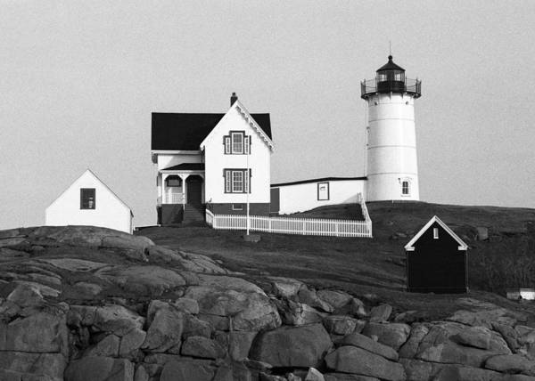 Nubble Lighthouse Poster featuring the photograph Nubble Lighthouse by Will Gunadi