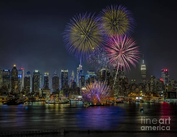 New York City Poster featuring the photograph Nyc Celebrates Fleet Week by Susan Candelario