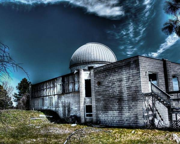 Hdr Poster featuring the photograph Observatory 6 by Michaela Preston