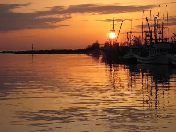Ocean Poster featuring the photograph Ocean Sunset 3rd by Shirley Sirois