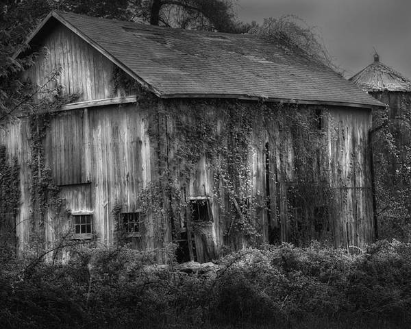 Relic Poster featuring the photograph Old Barn by Bill Wakeley