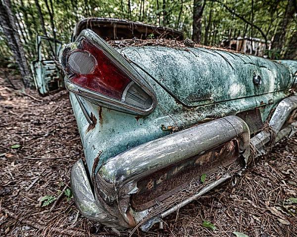 Usa Poster featuring the photograph Old Car 3 by Oleg Koryagin
