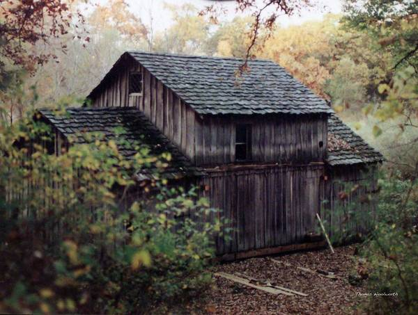 Grist Mill Poster featuring the photograph Old Grist Mill by Thomas Woolworth