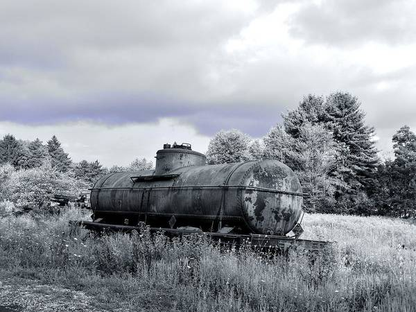 Old Rusty Tanker Poster featuring the photograph Old Rusty Tanker 3 by Anthony Thomas