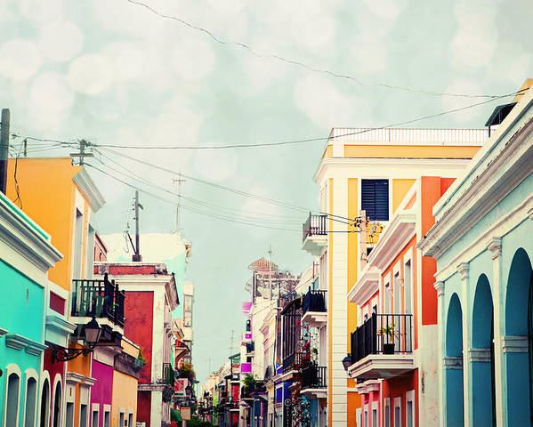 San Juan Poster featuring the photograph Old San Juan Special Request by Kim Fearheiley