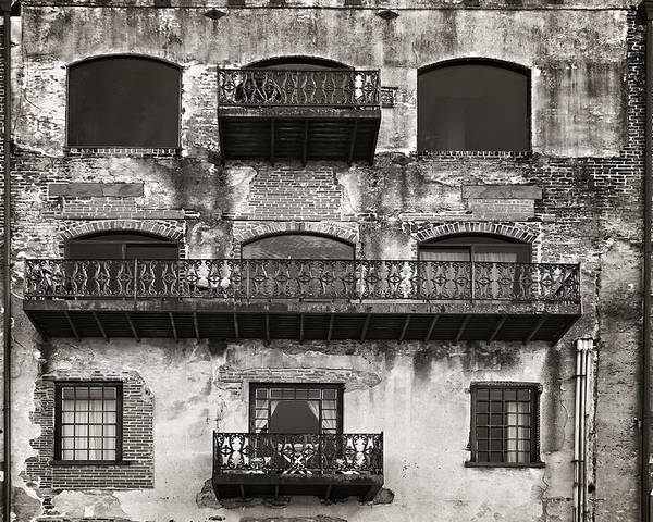 Sepia Poster featuring the photograph Old Savannah by Mario Celzner