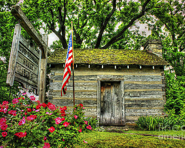 Kentucky Poster featuring the photograph Old School House by Darren Fisher